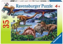 RAVENSBURGER 35PC JIGSAW PUZZLE DINOSAUR PLAYGROUND