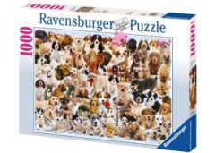 RAVENSBURGER 1000PC JIGSAW PUZZLE  DOGS GALORE!