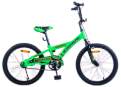 "SOLDIER ANT 50CM (20"") GREEN/BLACK BMX BIKE"