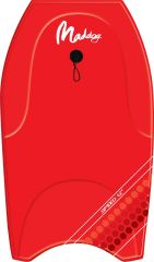 "MADDOG SPEED BODY BOARD 40"" RED"