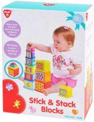 PLAYGO STICK AND STACK BLOCKS