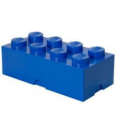 LEGO STORAGE BRICK 8 BLUE