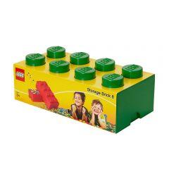 LEGO STORAGE BRICK 8 GREEN