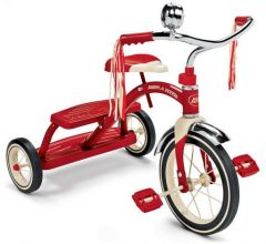 RADIO FLYER CLASSIC RED DUAL DECK TRICYCLE TRIKE
