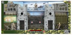 WORLD PEACE KEEPERS MILITARY BASE GATE BATTLEFIELD PLAYSET