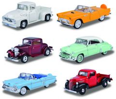 1:24 MOTOR MAX DIE CAST COLLECTION TIMELESS LEGENDS