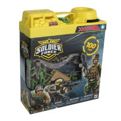 SOLDIER FORCE 100PC BUCKET SET