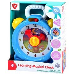 PLAYGO LEARNING MUSICAL CLOCK