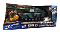 LIGHTS AND SOUNDS MILITARY TANK