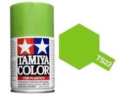 TAMIYA TS-22 LIGHT GREEN SPRAY PAINT FOR PLASTICS