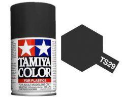 TAMIYA TS-29 SEMI GLOSS BLACK SPRAY PAINT FOR PLASTICS