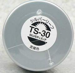 TAMIYA TS-30 SILVER LEAF SPRAY PAINT FOR PLASTICS