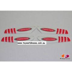 TWISTER PRO MICRO BLADE SET RED