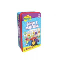THE WIGGLES BINGO & MATCHING GAME TIN