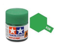 TAMIYA ACRYLIC X 28 PARK GREEN GLOSS