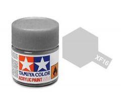 TAMIYA ACRYLIC XF 16 FLAT ALUMINIUM