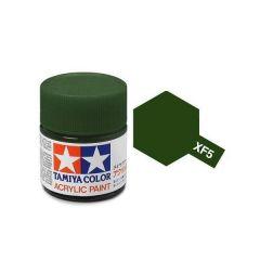 TAMIYA ACRYLIC XF 5 FLAT GREEN