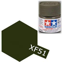 TAMIYA ACRYLIC XF 51 KHAKI DRAB FLAT